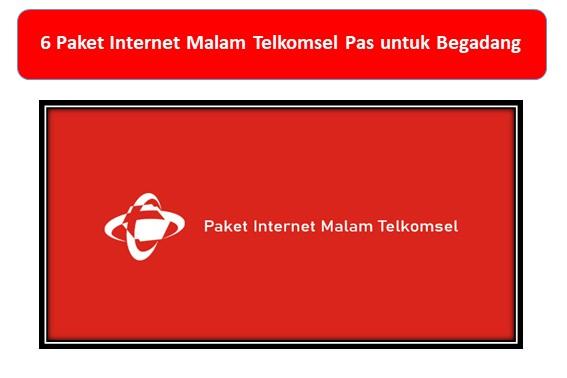 6 Paket Internet Malam Telkomsel Pas untuk Begadang