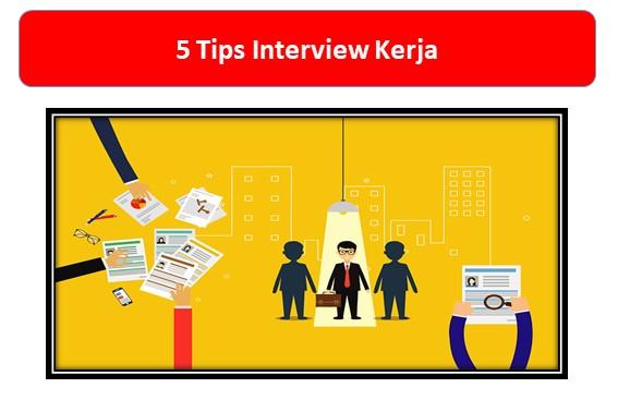 Cemas Menghadapi Interview Kerja? Yuk Ikuti 5 Tips Interview Kerja Berikut Ini